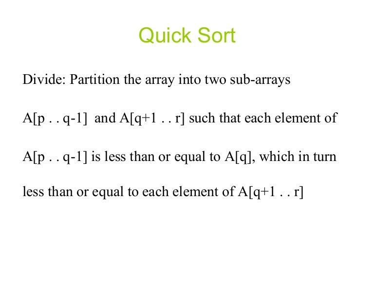 quick sort research paper C++ programs for sorting numbers in ascending order using quick sort method / write c++ programs for sorting a given list of elements in ascending order using quick sort sorting methods /  research papers click here to submit submit your projects click here to submit.