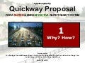 The Quickway Proposal for San Diego, pt. 1/2: Why? How?