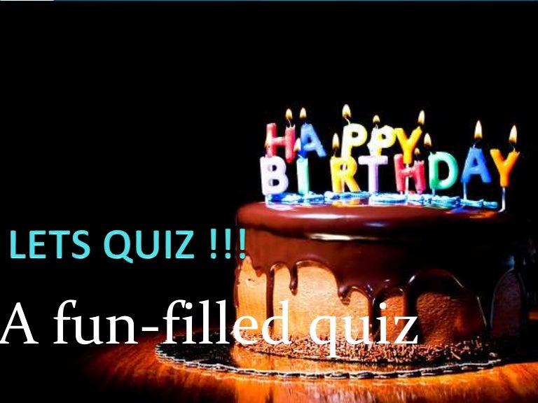 Kids Quiz Age 79 Birthday Party Activity