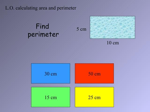Quiz farmersproblem1[1] perimeter