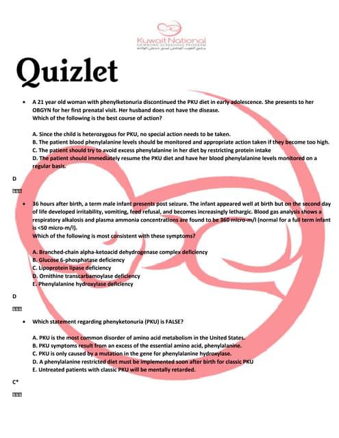 Quizlet-inborn errors