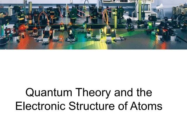 Quntum Theory powerpoint