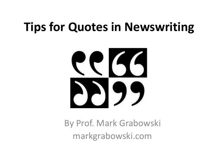 Journalism Quotes 3