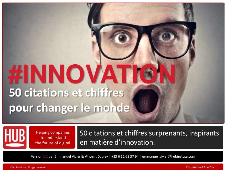 50 Citations Sur L Innovation