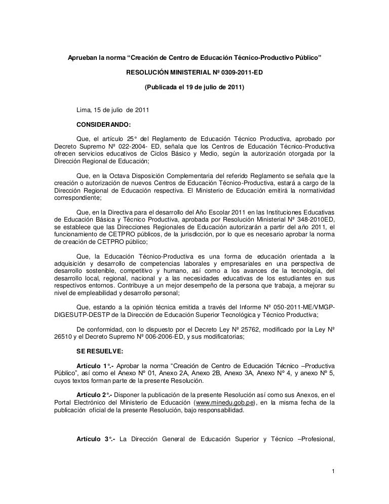306db52bac R.M. Nº 0309 2011-ED Creacion de CETPROS