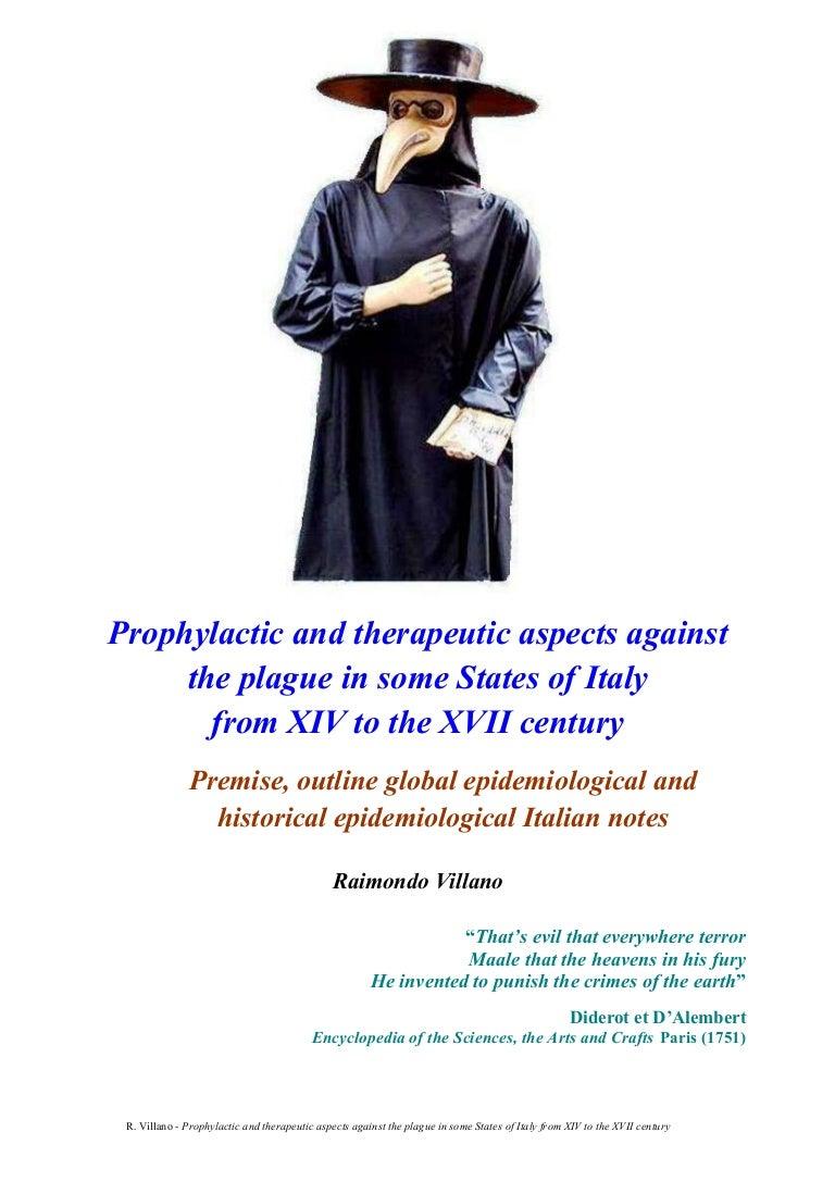 R. Villano-PLAGUE IN ITALY-Historical epidemiological Italian notes