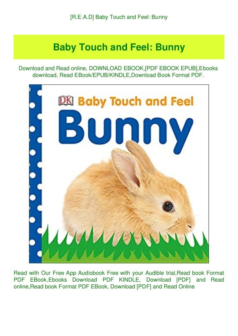 Free [R.E.A.D] Baby Touch and Feel Bunny (DOWNLOAD E.B.O.O.K.^)