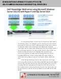 Consolidate and upgrade to save up to $172K:  Dell PowerEdge R620 and Microsoft SQL Server 2014