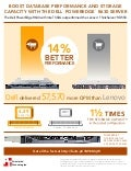 Database server comparison: Dell PowerEdge R630 vs. Lenovo ThinkServer RD550 - Infographic