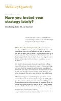 Mc kinsey strategy-article 10 copies 2 sided color stapled