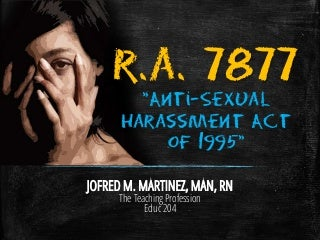 RA 7877 Sexual Harassment Act