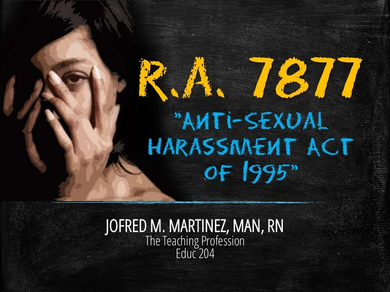 Sexual harassment in the military ppt