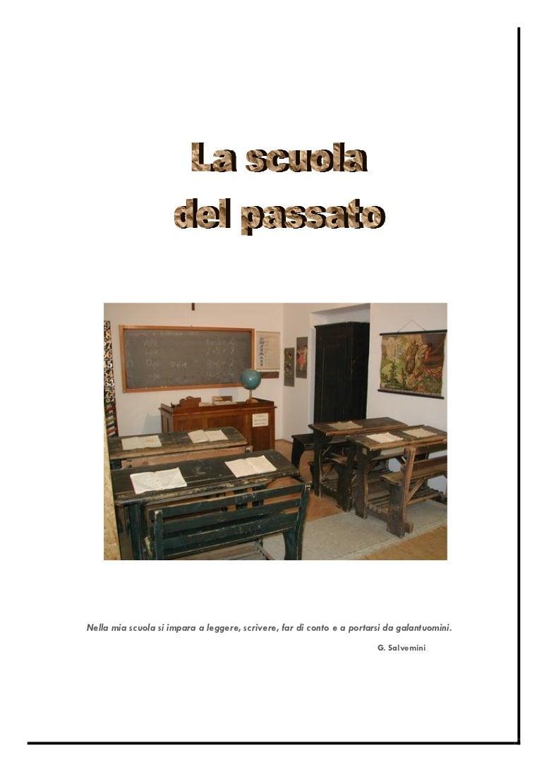 60568a16a3 Raccolta la scuola del passato