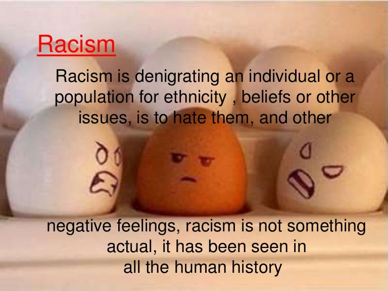 Racism essay introduction