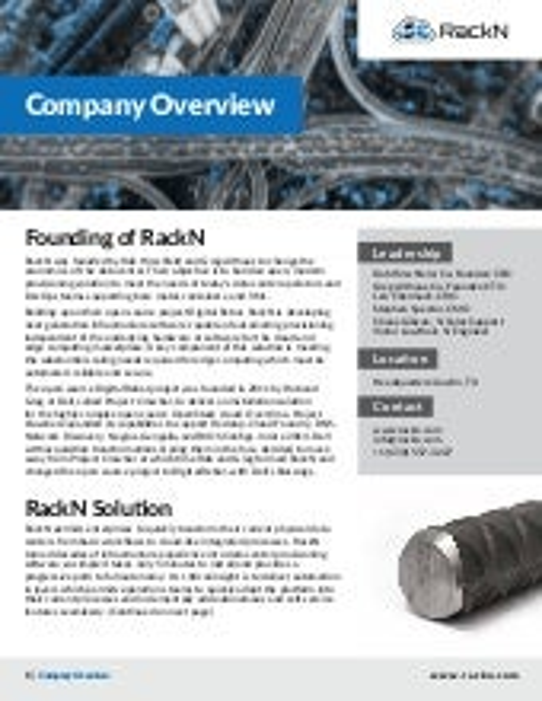 RackN Company Overview