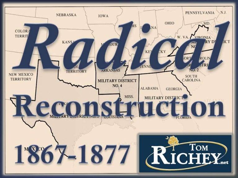 Radical Reconstruction Us History