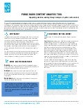 Radio content analysis tool 2 page brief may 2016