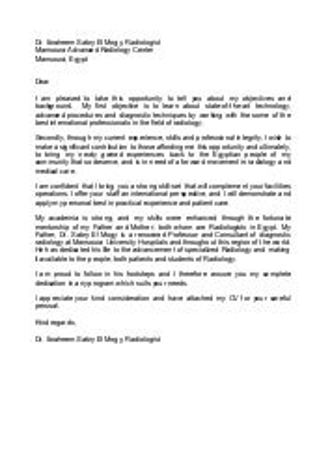 radiologist resume - Radiologist Resume