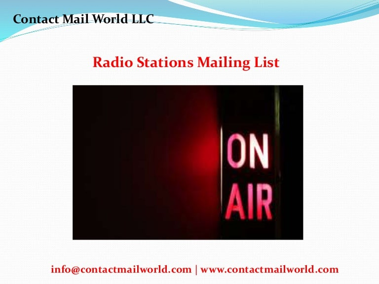 Where can you find a list of radio station phone numbers?