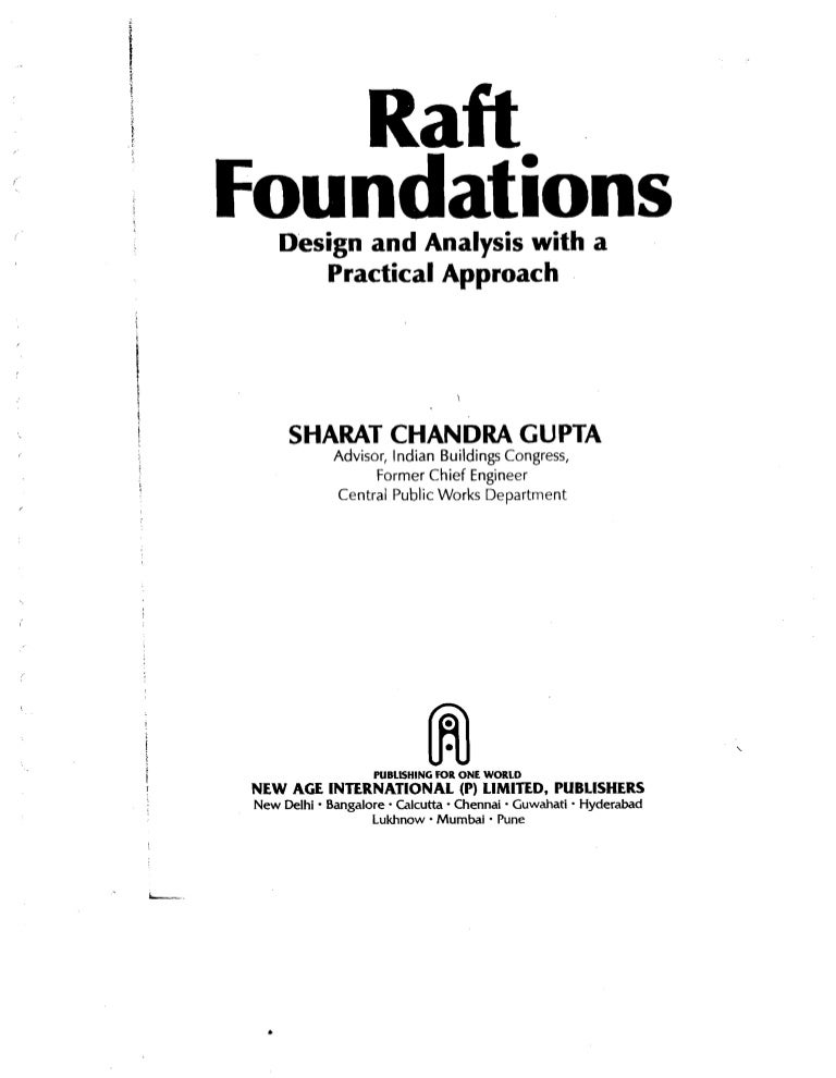 Raft Foundations Design And Analysis With A Practical