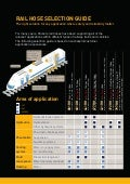 Rail Hose Selection Guide - Transportation - Parker Hannifin