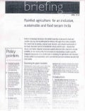 Rainfed agriculture_Policy Briefing_2013