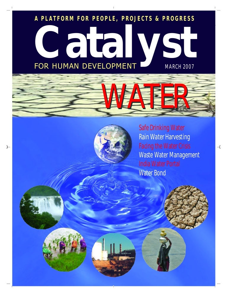 rainwater harvesting catalyst for human development