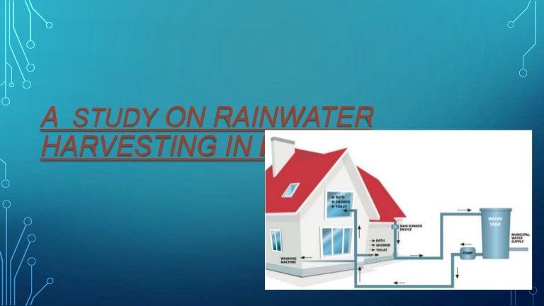 rain water harvesting methods in kerala