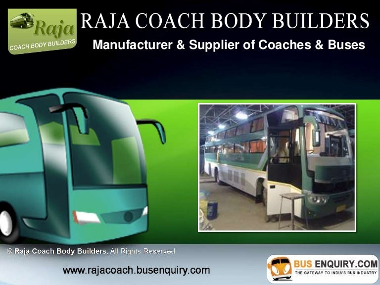 Raja Coach Body Builders
