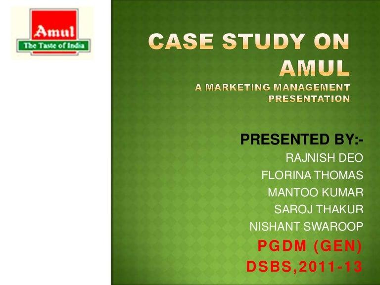 short case studies in marketing management