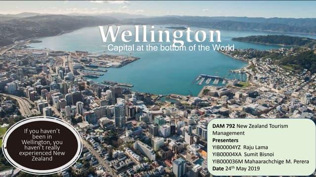 Wellington, New Zealand Tourism Features