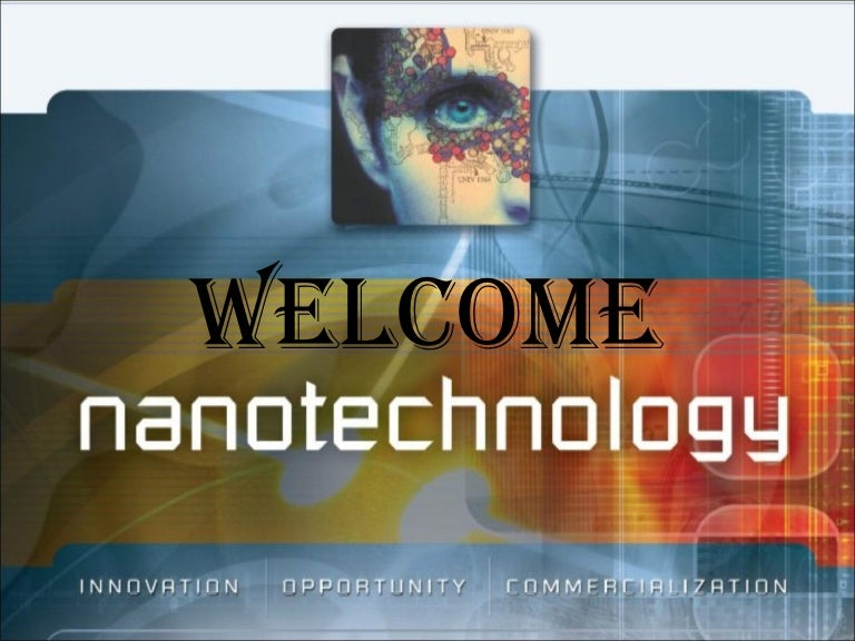 Nano technology toneelgroepblik Images