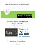 Iστολόγιο και ιστολογείν