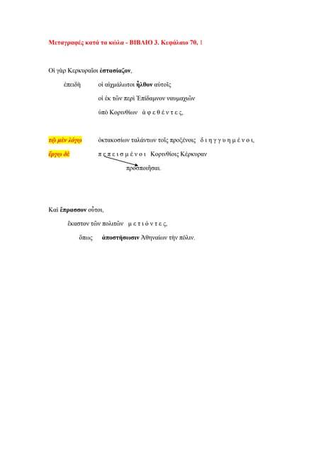 ΔΟΚΙΜΕΣ ΜΕΤΑΓΡΑΦΩΝ