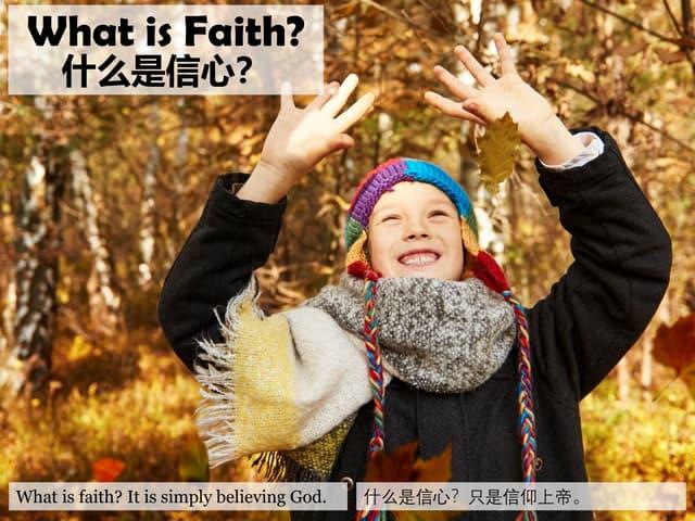 什么是信心?