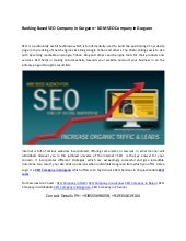 Ranking based seo company in gurgaon, seo packages in gurgaon