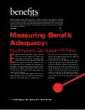 Measuring Benefit Adequacy: How Employers Can Support HR Policy