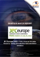 JEC-europe-paris-2012 Technological watch report