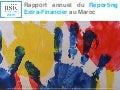 Rapport annuel du Reporting Extra-Financier au Maroc - 2015