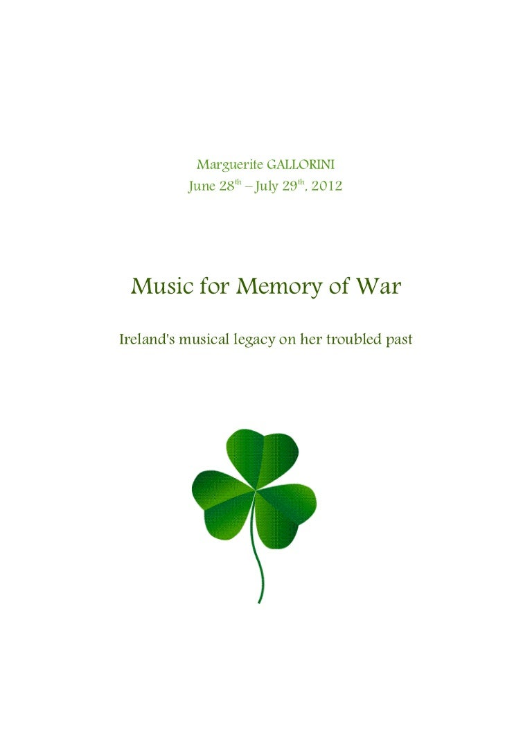 Ireland music for memory of war biocorpaavc Images