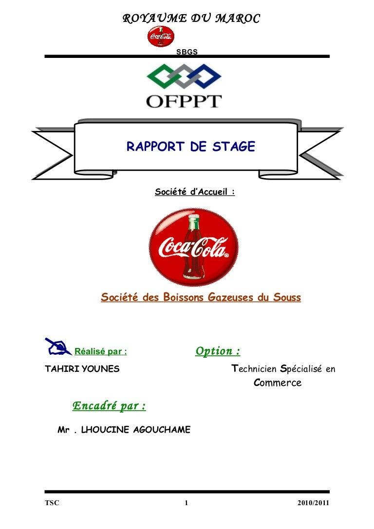 Exemple De Cv Pour Stage Ofppt
