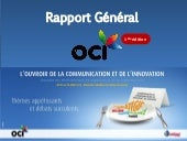 Rapport du colloque (Ouvroir de la Communication et de l'Innovation