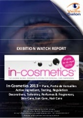 IN-COSMETICS intelligence report 2013