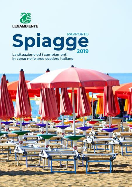 Legambiente - Rapporto spiagge 2019