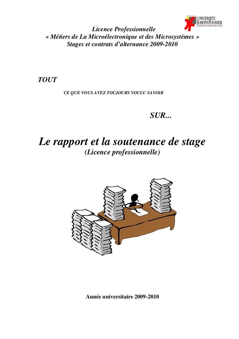 Ebook Page De Garde Rapport De Stage 3eme