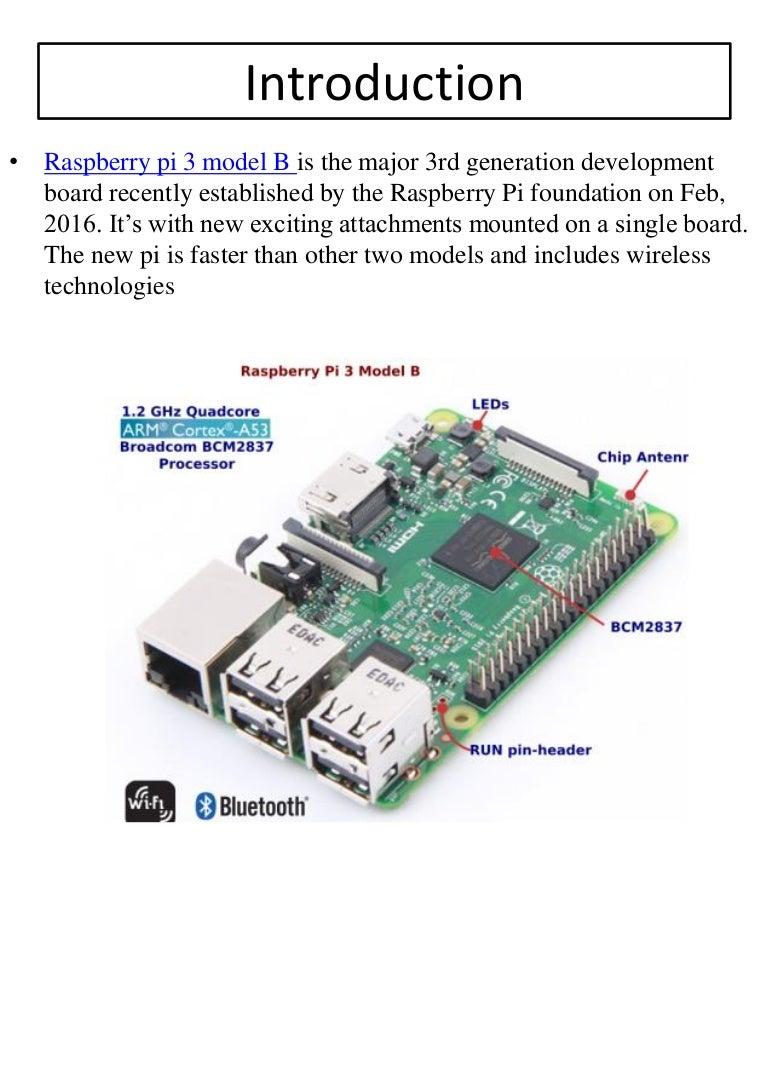 Raspberry Pi 3 Model B Pdf Download Online Robomart Pi3