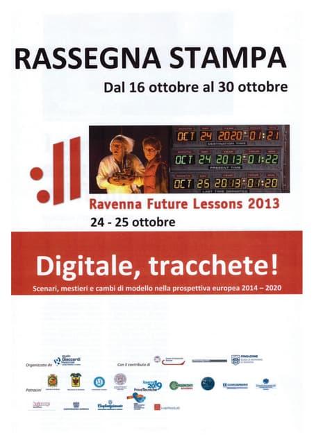 RFL 2013 - Rassegna Stampa