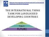 The International Think Tank Ratifications
