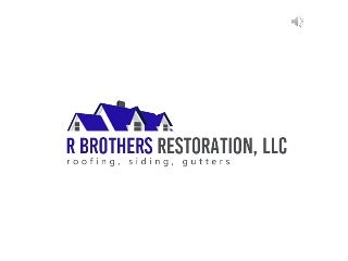 Roofing, Siding & Gutter Services Are Our Speciality!!