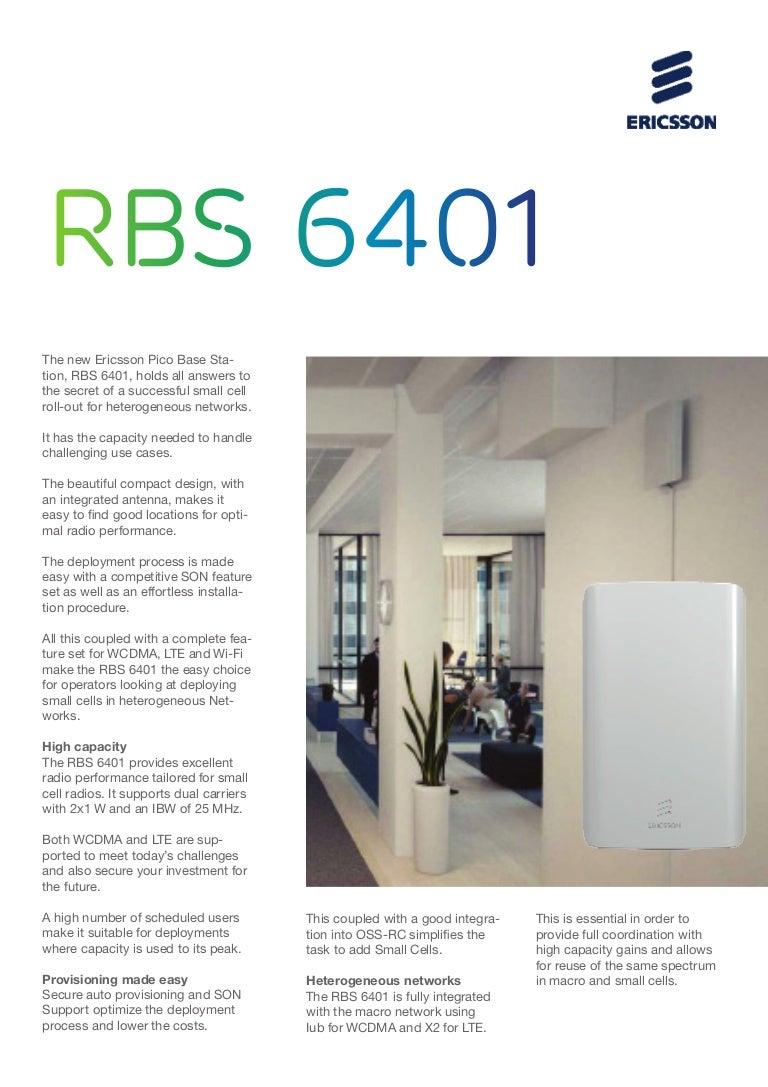 Rbs 6401 datasheet